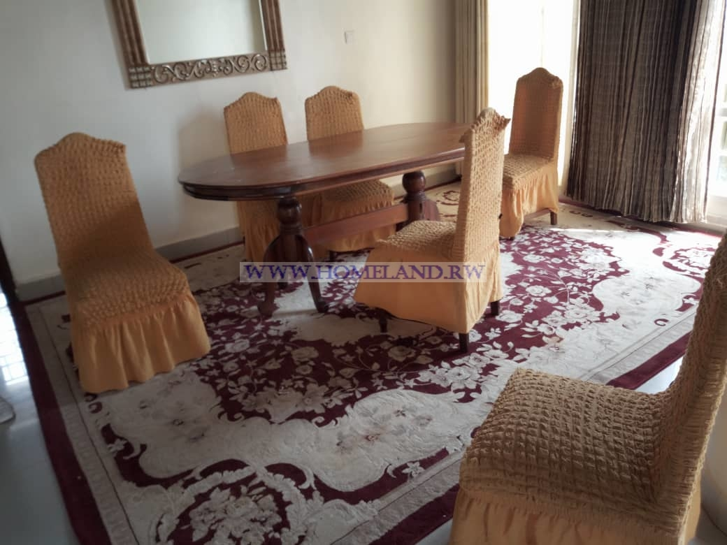 FULL FURNISHED HOUSE FOR RENT IN KIGALI/KICUKIRO NIBOYI AT $ 1000